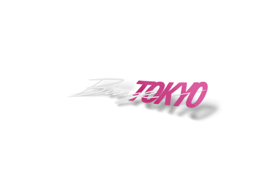 BingeTokyo 2PC Pink/White Sticker 8""