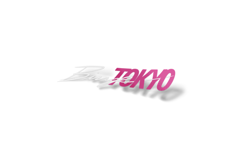 BingeTokyo 2PC 8in Pink/White Sticker