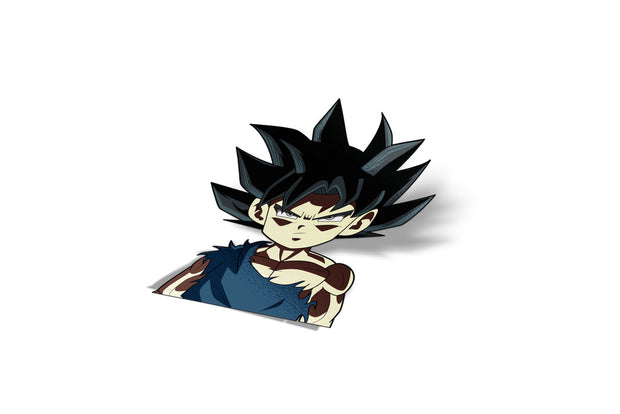 Chibi Ultra Instinct Goku Sticker