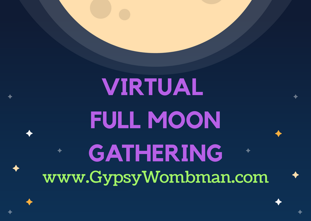 Virtual Full Moon Gathering - Donation Service