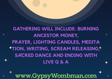 Load image into Gallery viewer, Virtual Full Moon Gathering - Donation Service