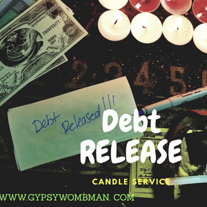 Debt Erasal Candle Service Donation