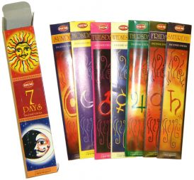 7 Days Incense