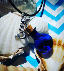 Spelled Bottle Necklace