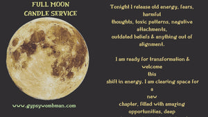 Full Moon Candle Service Donation