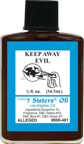 Keep Evil Away Oil