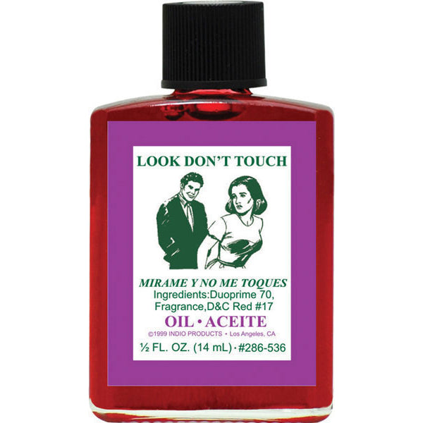 Look But Don't Touch Oil