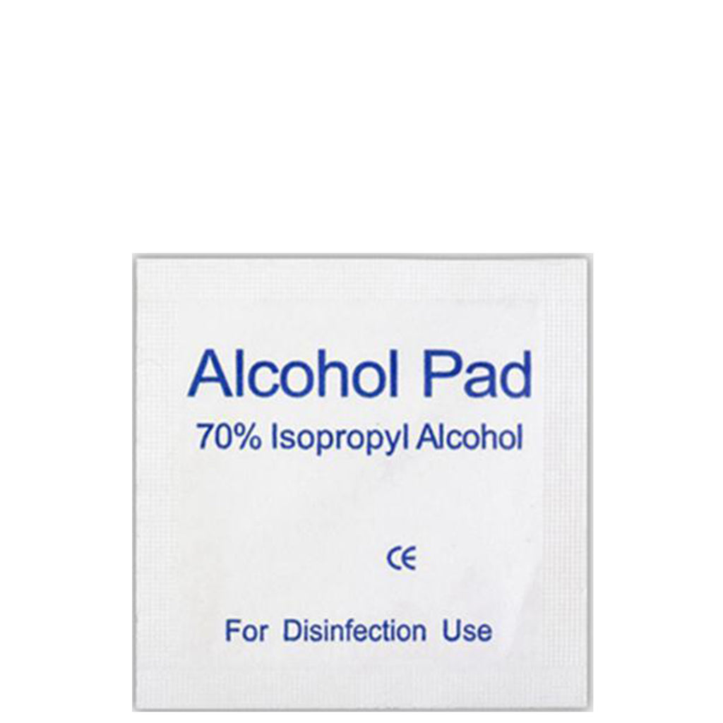 Alcohol Sterile Wipes - 100 Pack - Lash Addicts