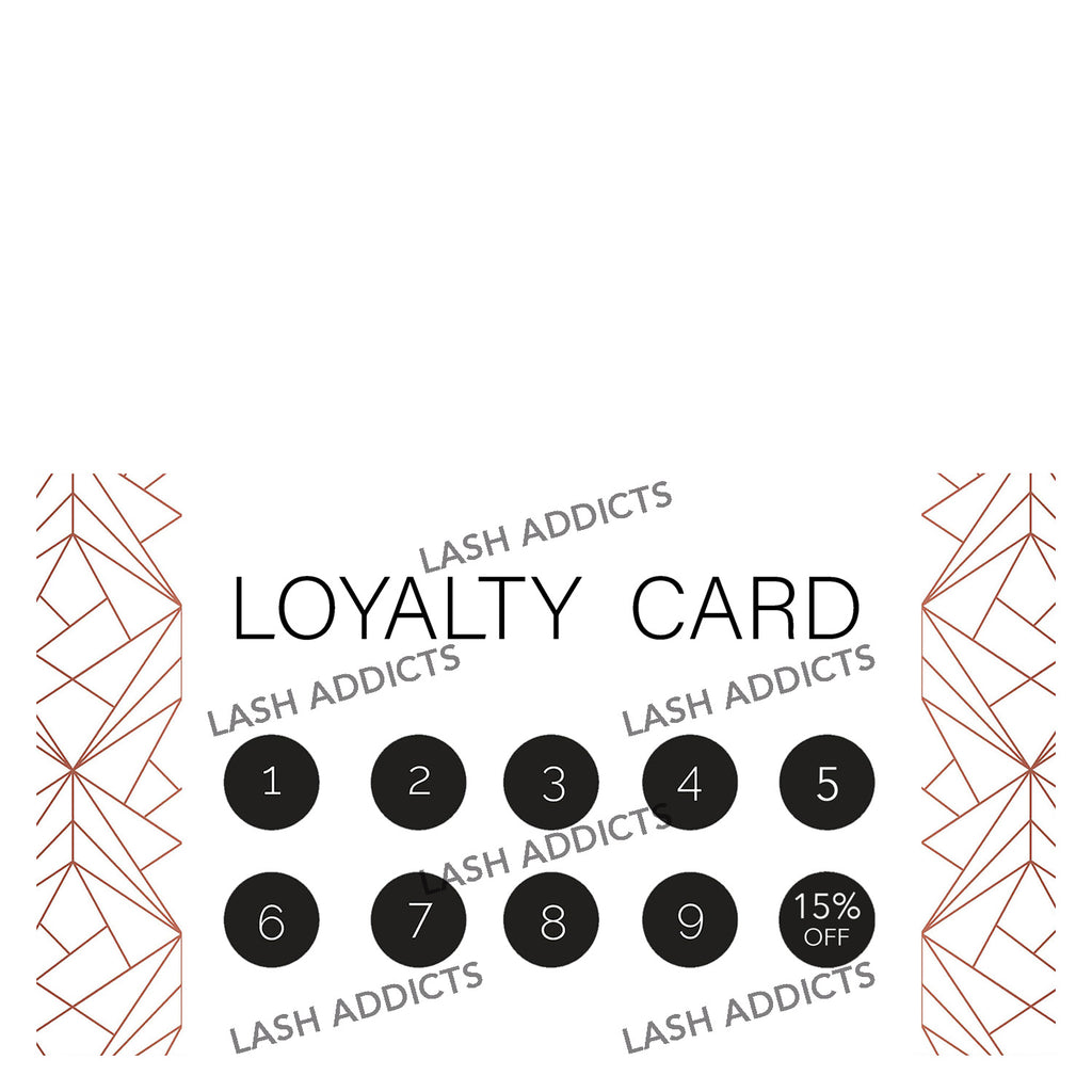 Client Loyalty Card - Lash Addicts