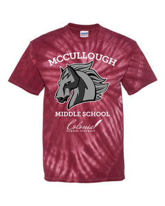 McCullough Middle School Tie-Dye T-Shirt