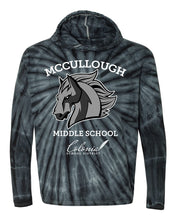 Load image into Gallery viewer, McCullough Middle School Tie-Dye Hoodie