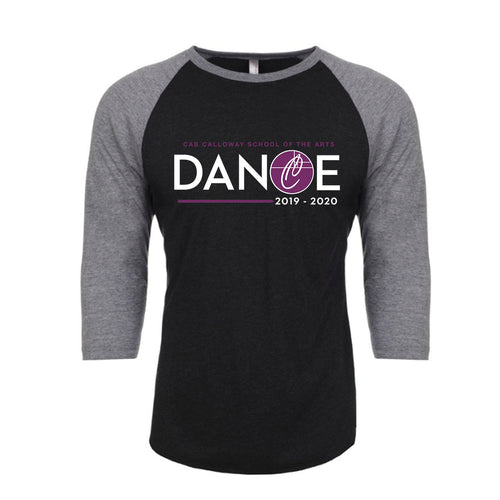 DANCE 2019-2020 - Raglan Grey/Black