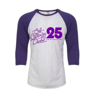 DANCE 25 Years - Raglan Purple/Heather