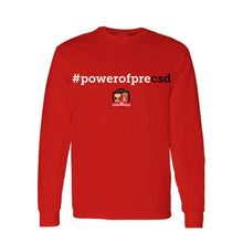 Load image into Gallery viewer, CEEP - #powerofprecsd Long Sleeve Tee