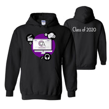 Load image into Gallery viewer, CA Communication Arts - Black Hoodie Class of 2020