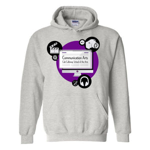 Communication Arts - Grey Hoodie