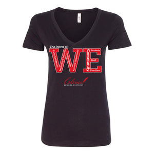 WE - Ladies Fit V-Neck by Next Level