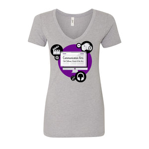 CCCA Ladies Fit V-Neck Tee
