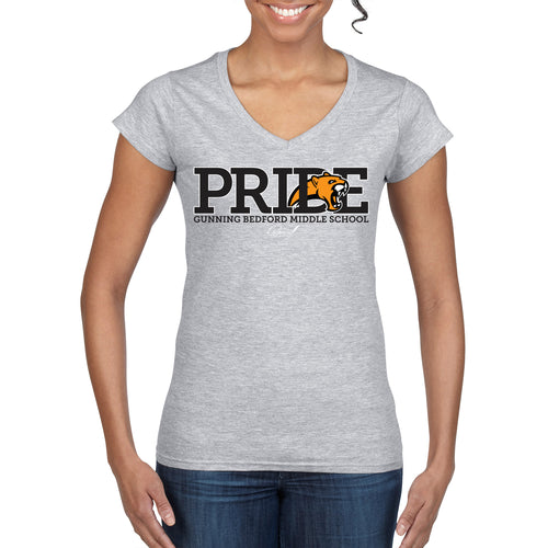 GB Pride - Ladies Fit V-Neck