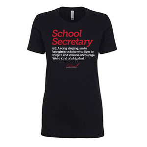 School Secretary - Ladies Fit Crewneck