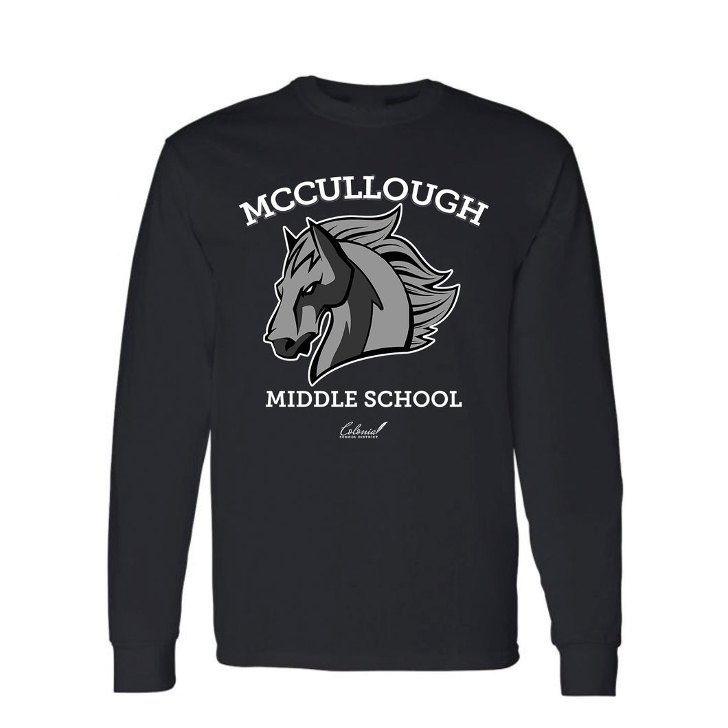 McCullough Middle School - Heavy Cotton Long Sleeve