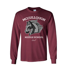Load image into Gallery viewer, McCullough Middle School - Heavy Cotton Long Sleeve
