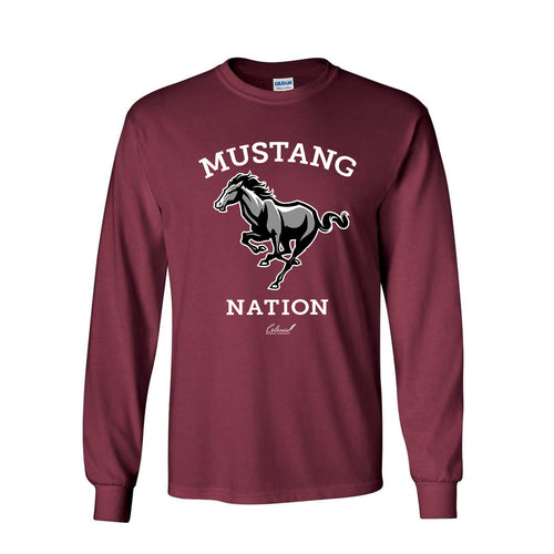 Mustang Nation - Heavy Cotton Long Sleeve