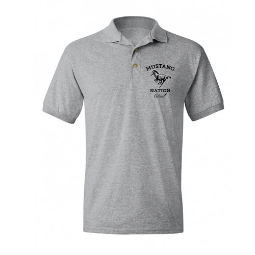Mustang Nation - Men's Fit Polo
