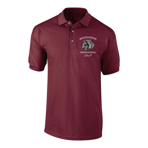 McCullough Middle School - Men's Fit Polo