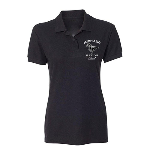 Mustang Nation - Women's Fit Polo