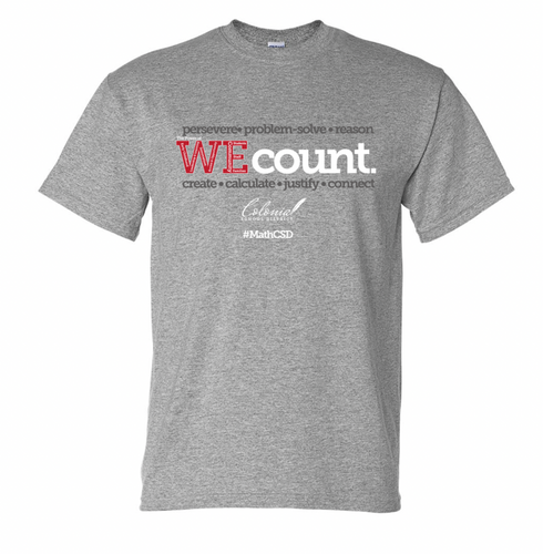 WE Count T-Shirt