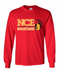 NCE Spartans Long Sleeve