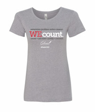 Load image into Gallery viewer, WE Count Ladies T-Shirt