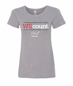 WE Count Ladies T-Shirt