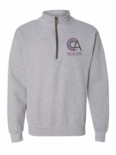 Load image into Gallery viewer, CCCA Quarter Zipper Crewneck Sweatshirt