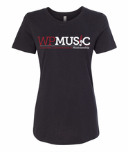 Load image into Gallery viewer, WP Music Ladies Fit T-Shirt
