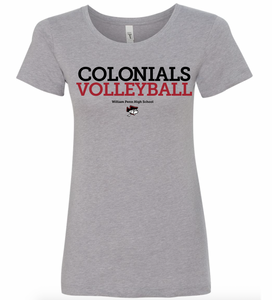 WP Volleyball Ladies Fit T-Shirt
