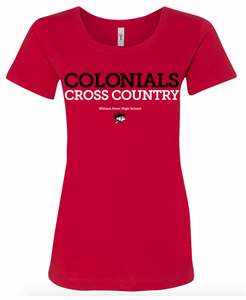 WP Cross Country Ladies Fit T-Shirt