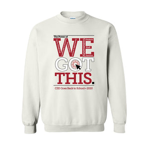 WE Got This Crewneck