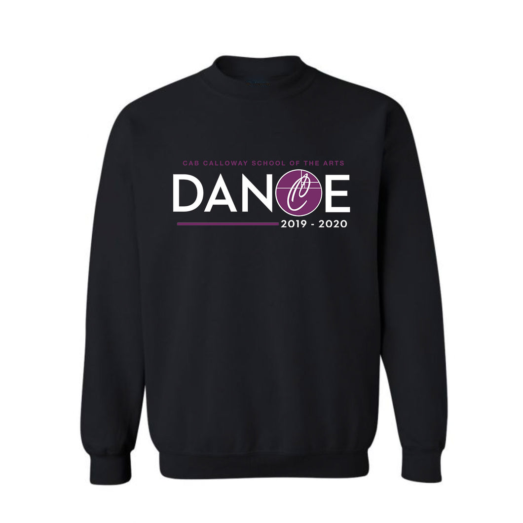 Dance Crewneck Sweatshirt - Heavy Blend Cotton/Poly