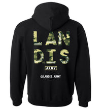 Load image into Gallery viewer, Landis Army Dog Tags Heavy Blend Hoodie