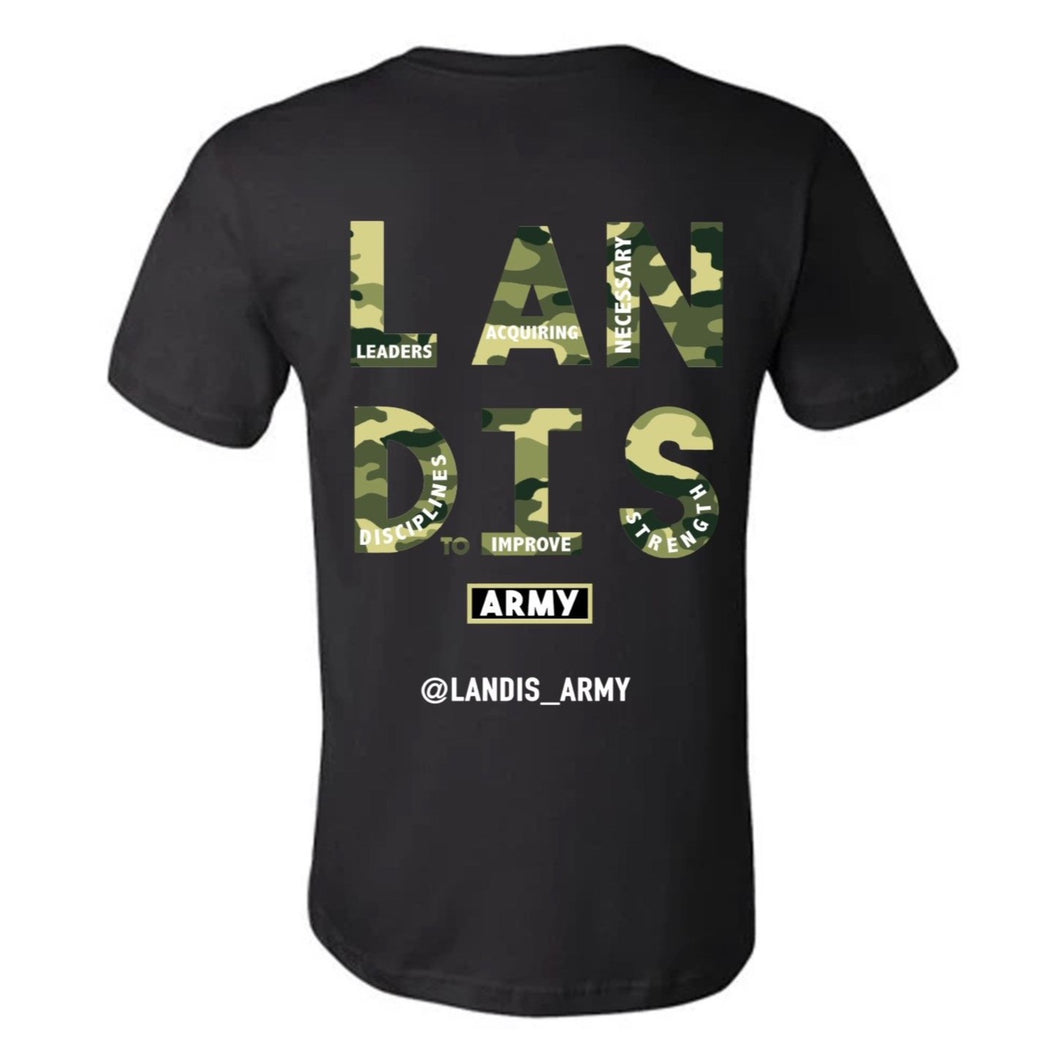 Landis Army Dog Tags Soft T-Shirt