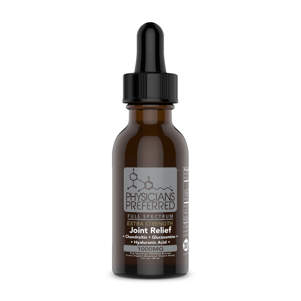 Joint Relief 1000mg Extra Strength Tincture - Harmonypreferred.com