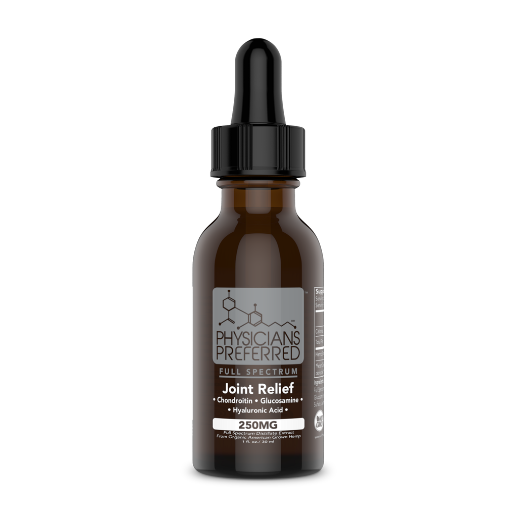 Joint Relief 250mg Tincture - Harmonypreferred.com