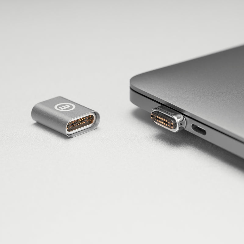 Magrig Adapter • Thunderbolt 3 Magnetic USB-C Adapter for  Macs, iPad Pro and other Thunderbolt 3 devices
