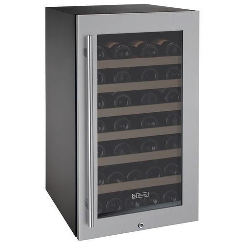 Allavino Shop-All VIWR43-1SSRT 43 Bottle Single Zone Wine Cooler Refrigerator