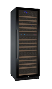 Allavino Flexcount VSWR172-2BWRN Wine Refrigerator Two-Zone 172 Bottle with Black Door and Right Hinge