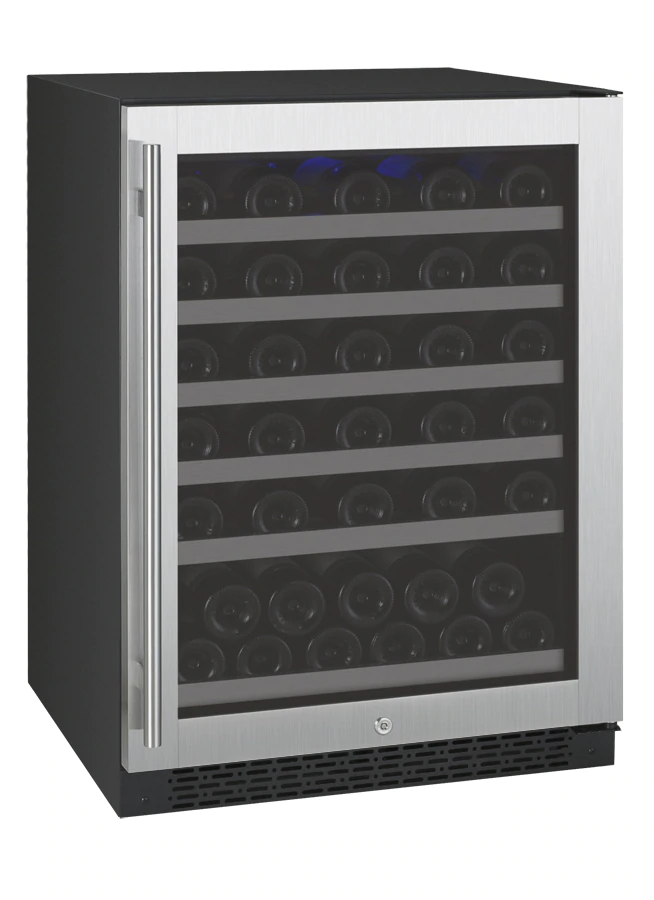 Allavino Flexcount VSWR56-1SSRN 56 Bottle Single Zone Wine Refrigerator on Right Hinge