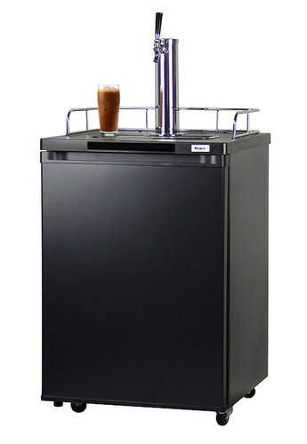 KEGCO ICK20B-1 JAVARATOR COLD-BREW COFFEE DISPENSER WITH BLACK CABINET AND DOOR - KEGCO.COM & MARKETPLACE