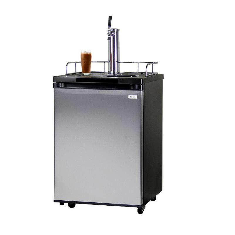 ICK20S-1 Javarator Cold Brew Coffee Dispenser with Black Cabinet and Stainless Steel Door